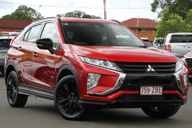 Used Mitsubishi Eclipse Cross YA MY19 ES 2WD, 2019 Mitsubishi Eclipse Cross YA MY19 ES 2WD Red/Black 8 Speed Constant Variable Wagon