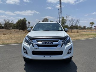 2019 Isuzu D-MAX MY19 LS-T Crew Cab Splash White 6 Speed Sports Automatic Utility.