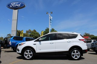 2017 Ford Escape ZG 2018.00MY Trend PwrShift AWD White 6 Speed Sports Automatic Dual Clutch Wagon