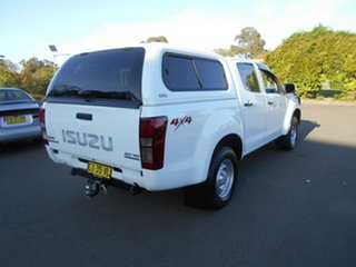 2014 Isuzu D-MAX TF MY15 SX (4x4) White 5 Speed Automatic Crew Cab Utility.