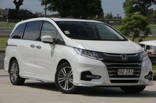 2019 Honda Odyssey RC MY20 VTi-L Platinum White 7 Speed Constant Variable Wagon.