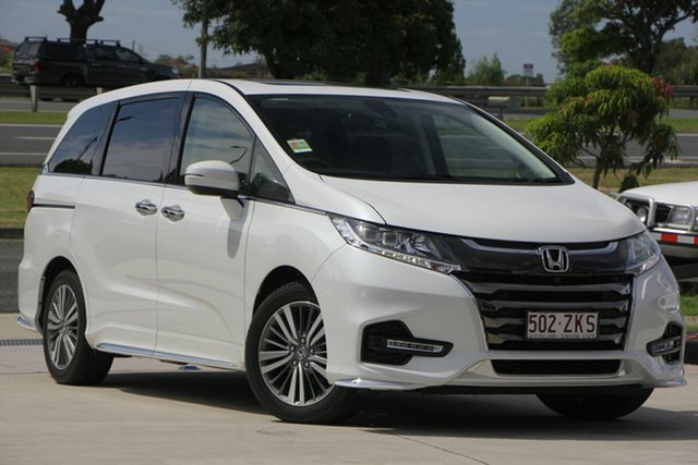 Demo Honda Odyssey RC MY20 VTi-L, 2019 Honda Odyssey RC MY20 VTi-L Platinum White 7 Speed Constant Variable Wagon