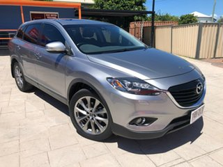 2015 Mazda CX-9 TB10A5 Grand Touring Activematic AWD Grey 6 Speed Sports Automatic Wagon.