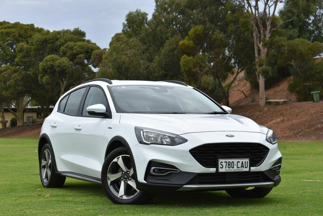 Used Ford Focus SA 2019.75MY Active, 2019 Ford Focus SA 2019.75MY Active White 8 Speed Automatic Hatchback