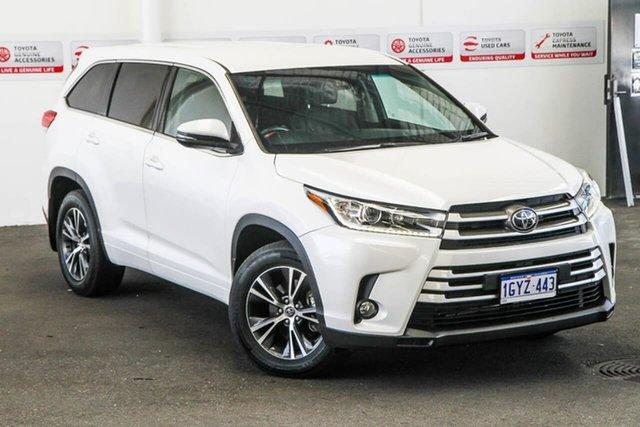Used Toyota Kluger GSU55R MY18 GX (4x4), 2018 Toyota Kluger GSU55R MY18 GX (4x4) Crystal Pearl 8 Speed Automatic Wagon