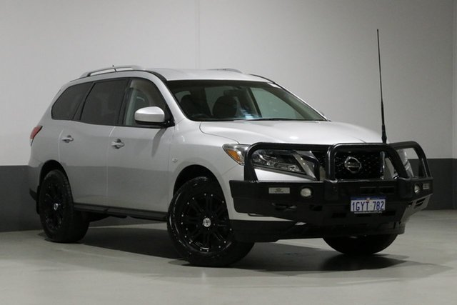 Used Nissan Pathfinder R52 ST (4x4), 2014 Nissan Pathfinder R52 ST (4x4) Silver Continuous Variable Wagon