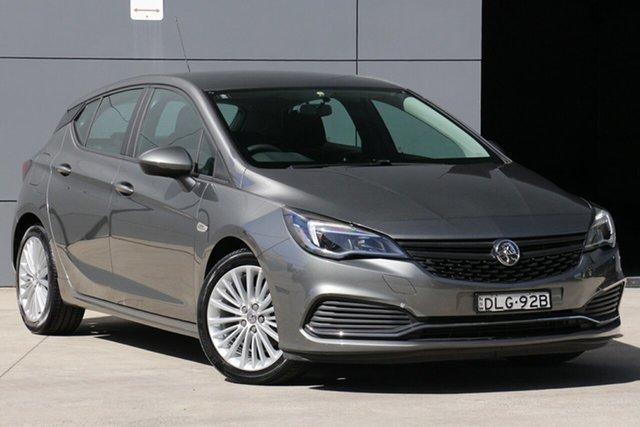Used Holden Astra BK MY18 R, 2017 Holden Astra BK MY18 R Grey 6 Speed Manual Hatchback