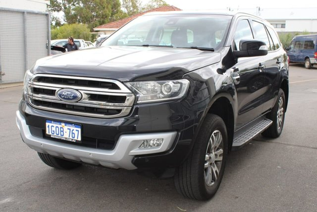 Used Ford Everest UA Trend 4WD, 2017 Ford Everest UA Trend 4WD Black 6 Speed Sports Automatic Wagon