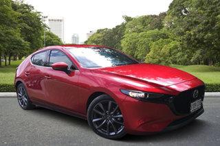 2019 Mazda 3 BP2H76 G20 SKYACTIV-MT Touring Soul Red 6 Speed Manual Hatchback.