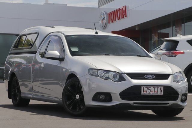 Used Ford Falcon FG MkII EcoLPi Ute Super Cab, 2011 Ford Falcon FG MkII EcoLPi Ute Super Cab Silver 6 Speed Automatic Utility