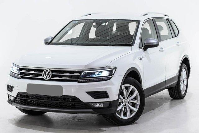 Used Volkswagen Tiguan 5N MY19.5 132TSI Comfortline DSG 4MOTION Allspace, 2019 Volkswagen Tiguan 5N MY19.5 132TSI Comfortline DSG 4MOTION Allspace White 7 Speed