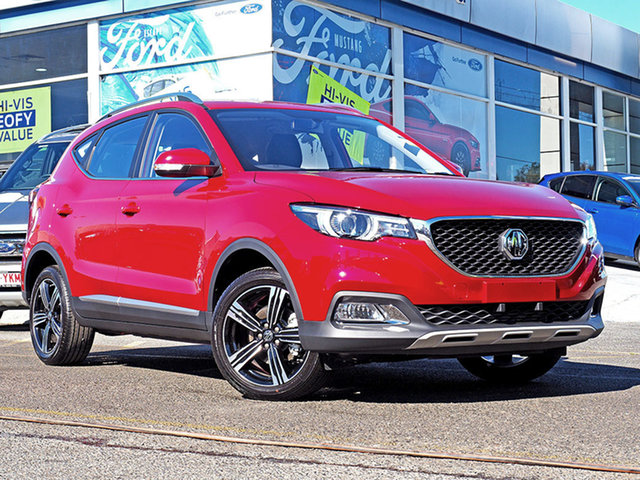 New MG ZS AZS1 MY19 Excite Plus 2WD, 2019 MG ZS AZS1 MY19 Excite Plus 2WD Red 6 Speed Automatic Wagon