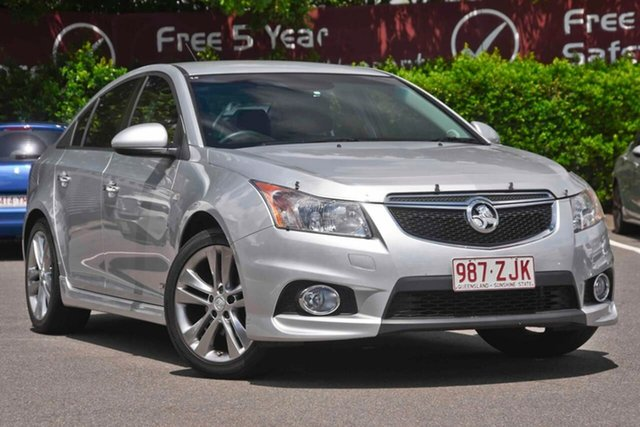 Used Holden Cruze JH Series II MY14 SRi Z Series, 2014 Holden Cruze JH Series II MY14 SRi Z Series Silver, Chrome 6 Speed Sports Automatic Sedan