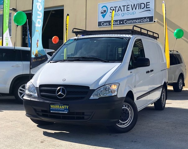 Used Mercedes-Benz Vito MY14 113CDI SWB, 2014 Mercedes-Benz Vito MY14 113CDI SWB White 6 Speed Manual Van