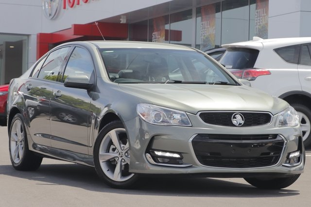 Used Holden Commodore VF II MY16 SV6, 2016 Holden Commodore VF II MY16 SV6 Green 6 Speed Sports Automatic Sedan