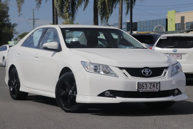 Used Toyota Aurion GSV50R Sportivo, 2016 Toyota Aurion GSV50R Sportivo White 6 Speed Sports Automatic Sedan