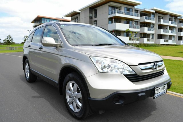 Used Honda CR-V RE MY2007 4WD, 2007 Honda CR-V RE MY2007 4WD Gold 6 Speed Manual Wagon