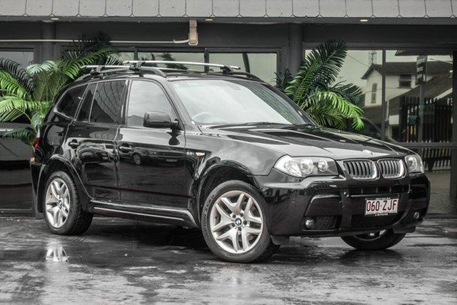 Used BMW X3 E83 MY06 Steptronic, 2006 BMW X3 E83 MY06 Steptronic Black 5 Speed Sports Automatic Wagon