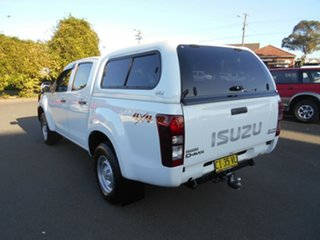 2014 Isuzu D-MAX TF MY15 SX (4x4) White 5 Speed Automatic Crew Cab Utility