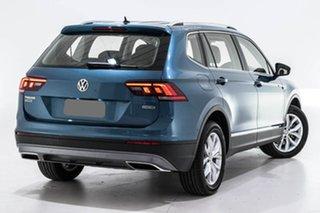 2019 Volkswagen Tiguan 5N MY19.5 132TSI Comfortline DSG 4MOTION Allspace Blue 7 Speed.