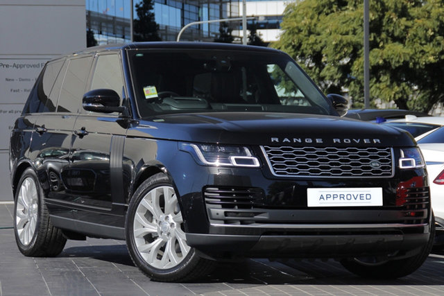 Demo Land Rover Range Rover L405 19MY SDV6 Vogue, 2018 Land Rover Range Rover L405 19MY SDV6 Vogue Santorini Black 8 Speed Sports Automatic Wagon