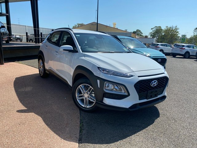 New Hyundai Kona OS.3 MY20 Active 2WD, 2019 Hyundai Kona OS.3 MY20 Active 2WD White 6 Speed Sports Automatic Wagon