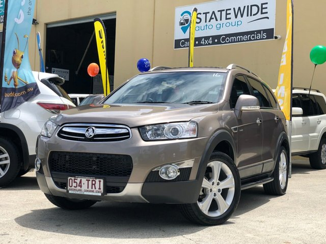 Used Holden Captiva CG MY13 7 LX (4x4), 2013 Holden Captiva CG MY13 7 LX (4x4) Gold 6 Speed Automatic Wagon