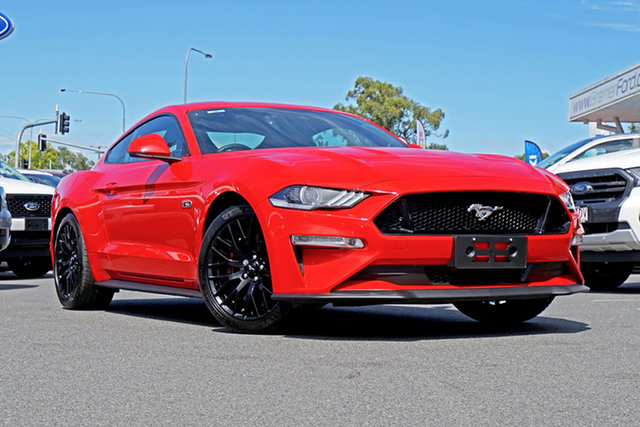 Used Ford Mustang FN 2018MY GT Fastback SelectShift, 2018 Ford Mustang FN 2018MY GT Fastback SelectShift Race Red 10 Speed Sports Automatic Fastback