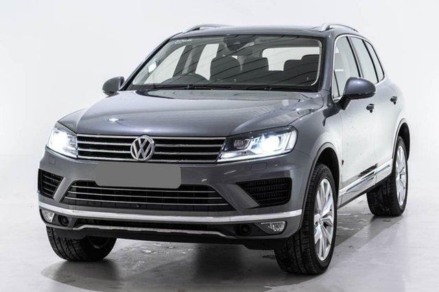 Used Volkswagen Touareg 7P MY17 V6 TDI Tiptronic 4MOTION, 2017 Volkswagen Touareg 7P MY17 V6 TDI Tiptronic 4MOTION Grey 8 Speed Sports Automatic Wagon