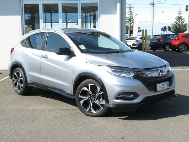 Demo Honda HR-V MY19 RS, 2019 Honda HR-V MY19 RS Lunar Silver 1 Speed Constant Variable Hatchback