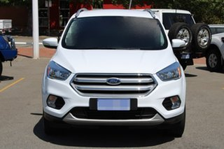 2017 Ford Escape ZG 2018.00MY Trend PwrShift AWD White 6 Speed Sports Automatic Dual Clutch Wagon.