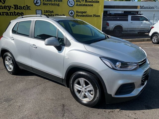 Used Holden Trax TJ MY18 LS, 2017 Holden Trax TJ MY18 LS Nitrate 6 Speed Automatic Wagon