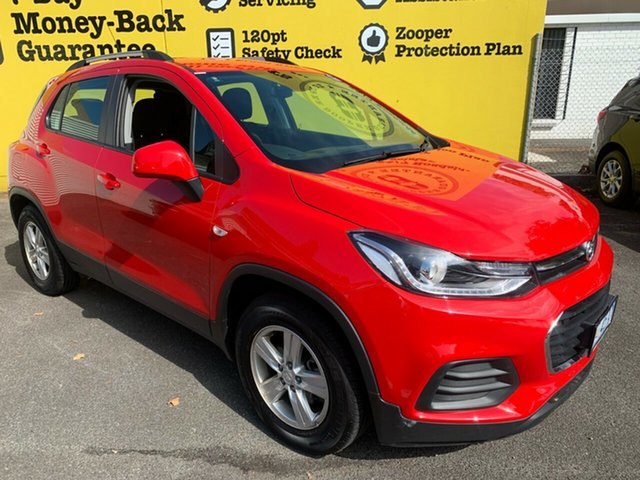Used Holden Trax TJ MY18 LS, 2017 Holden Trax TJ MY18 LS Absolute Red 6 Speed Automatic Wagon