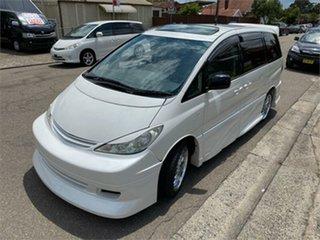 2005 Toyota Estima MCR30 Aeras S White Automatic Wagon
