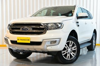 2016 Ford Everest UA Trend 4WD White 6 Speed Sports Automatic Wagon.