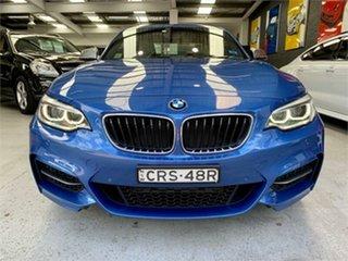 2014 BMW 2 Series F22 M235I Estoril Blue Sports Automatic Coupe.
