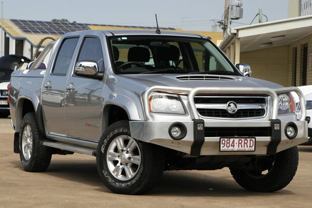 Used Holden Colorado RC MY11 LT-R Crew Cab, 2011 Holden Colorado RC MY11 LT-R Crew Cab Silver 4 Speed Automatic Utility