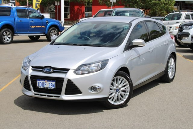 Used Ford Focus LW Sport PwrShift, 2011 Ford Focus LW Sport PwrShift Silver 6 Speed Sports Automatic Dual Clutch Hatchback