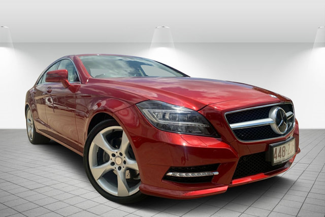 Used Mercedes-Benz CLS-Class C218 CLS250 CDI Coupe 7G-Tronic +, 2014 Mercedes-Benz CLS-Class C218 CLS250 CDI Coupe 7G-Tronic + Red 7 Speed Sports Automatic Sedan