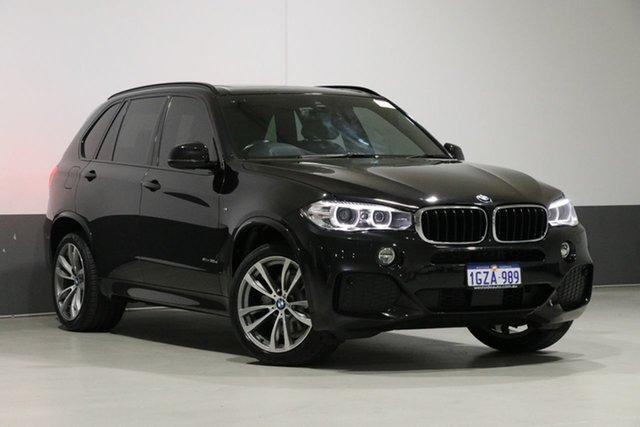 Used BMW X5 F15 MY16 xDrive 30D, 2016 BMW X5 F15 MY16 xDrive 30D Black 8 Speed Automatic Wagon