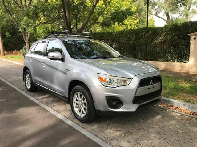 Used Mitsubishi ASX XA MY12 2WD, 2012 Mitsubishi ASX XA MY12 2WD Silver 6 Speed Constant Variable Wagon