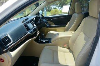 2014 Toyota Kluger GSU55R Grande AWD White 6 Speed Sports Automatic Wagon