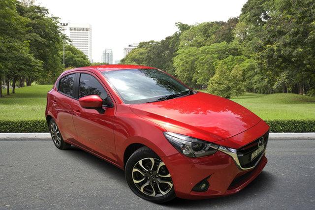 Used Mazda 2 DJ2HA6 Genki SKYACTIV-MT, 2015 Mazda 2 DJ2HA6 Genki SKYACTIV-MT Red 6 Speed Manual Hatchback