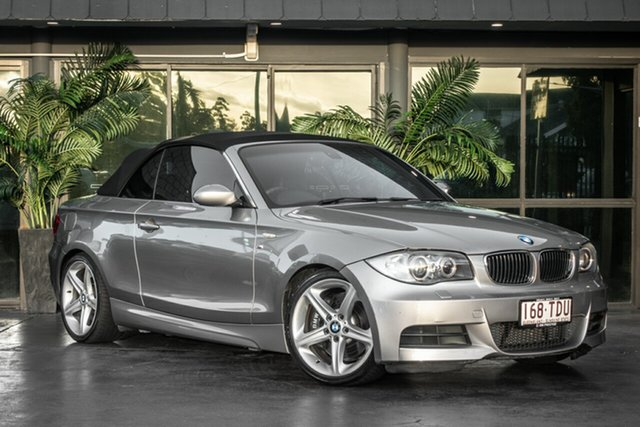 Used BMW 1 Series E88 135i Steptronic, 2008 BMW 1 Series E88 135i Steptronic Gold 6 Speed Sports Automatic Convertible