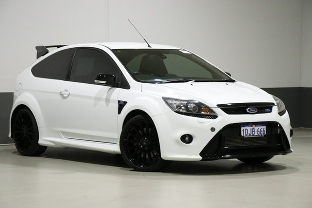 Used Ford Focus LV RS, 2010 Ford Focus LV RS White 6 Speed Manual Hatchback