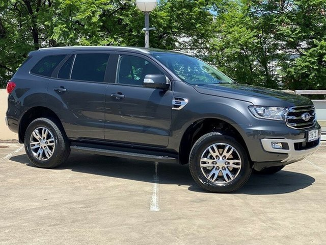 Demo Ford Everest UA II 2019.00MY Trend 4WD, 2019 Ford Everest UA II 2019.00MY Trend 4WD Meteor Grey 10 Speed Sports Automatic Wagon