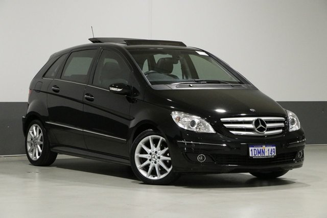 Used Mercedes-Benz B200 245 07 Upgrade Turbo, 2007 Mercedes-Benz B200 245 07 Upgrade Turbo Black Continuous Variable Hatchback