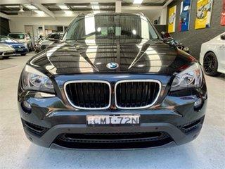 2012 BMW X1 E84 LCI sDrive20i Black Sports Automatic Wagon.