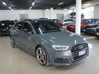 2019 Audi S3 8V MY20 Sportback S Tronic Quattro Nardo Grey 7 Speed Sports Automatic Dual Clutch.