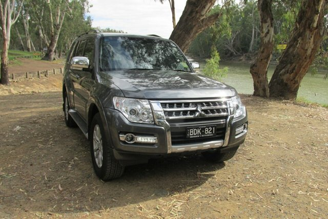 Demo Mitsubishi Pajero NX MY19 GLX, 2019 Mitsubishi Pajero NX MY19 GLX Grey 5 Speed Sports Automatic Wagon